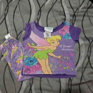 Other - Tinkerbell pajamas set